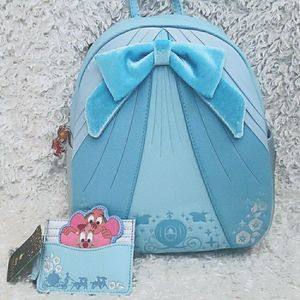 NWT Loungefly Cinderella Princess Set